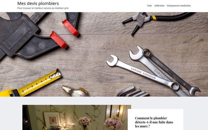 Mes devis plombiers - Pour trouver le meilleur service au meilleur prix